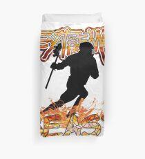 Extreme Lacrosse Beast Duvet Cover