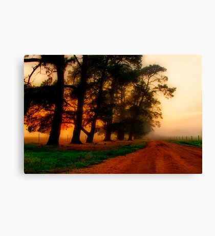 """The Mood of the Morning"" Canvas Print"