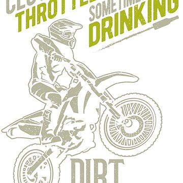 Beer Drinking Dirt Biker by offroadstyles