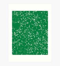 A Sea of Four Leaf Clovers Art Print