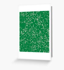 A Sea of Four Leaf Clovers Greeting Card