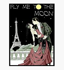 FLY ME TO THE MOON: Vintage Music Advertising Print Photographic Print