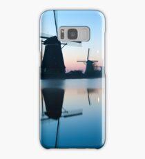 Iconic Windmills of Kinderdijk, The Netherlands Samsung Galaxy Case/Skin