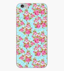 Modernes Vintages Girly rosa elegantes Blumenmuster iPhone-Hülle & Cover