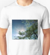 Sun Shine and Tree Unisex T-Shirt