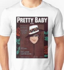 Vintage Sheet Music Songbook Cover Pretty Baby 1916 Unisex T-Shirt