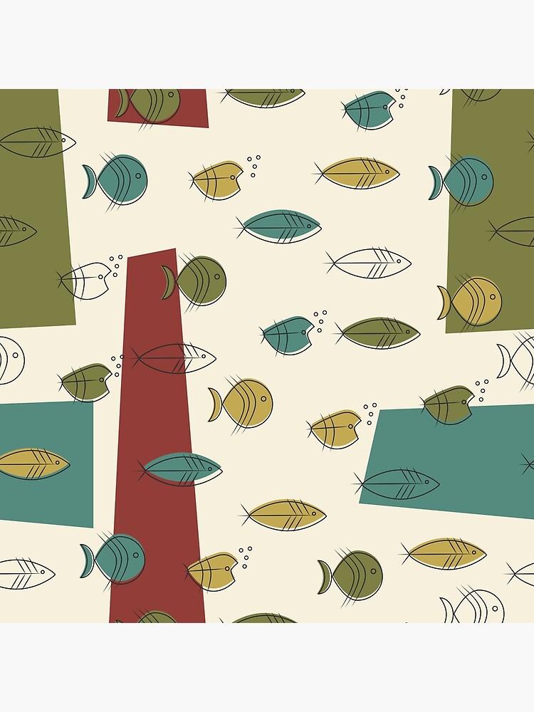 Midcentury Modern Fish by MeredithWatson