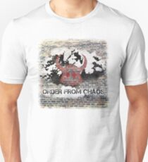 'Chaos Bringer' with background Unisex T-Shirt