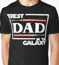 Best Dad In The Galaxy Shirt   Fathers Day Gift   Dark Side   Vader Graphic T-Shirt