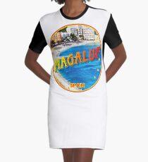 Magaluf, Magaluf poster, tshirt, Spain, beach, photo Graphic T-Shirt Dress