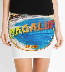 Magaluf, Magaluf poster, tshirt, Spain, beach, photo Mini Skirt