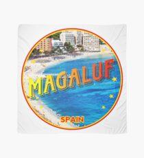 Magaluf, Magaluf poster, tshirt, Spain, beach, photo Scarf