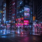 Shinjuku at night by Guillaume Marcotte