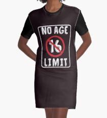 No Age Limit 16th Birthday Gifts Funny B Day For 16 Year Old Graphic T