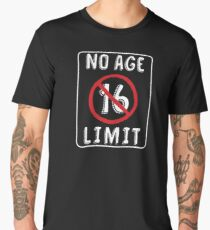 No Age Limit 16th Birthday Gifts Funny B Day For 16 Year Old Mens Premium