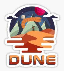 Dune Vintage Retro Movie Graphic Sticker
