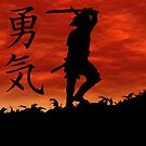 Samurai Courage by Okeesworld