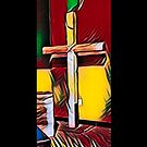 The Cross (Red) by Joe Lach