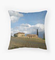 Vigna Toscana Throw Pillow