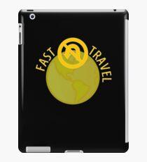 Fast Travel iPad Case/Skin