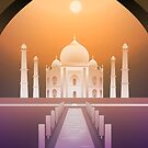Taj Mahal by itsmidnight