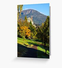 Autumn in the Gardens Greeting Card