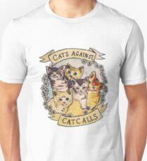 Camiseta unisex Llamadas de gato