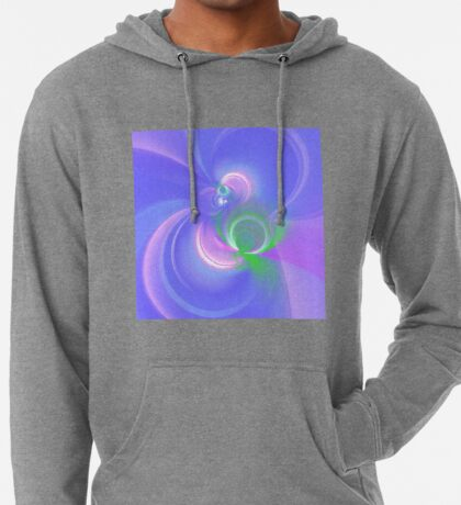 Abstract fractal colors Lightweight Hoodie
