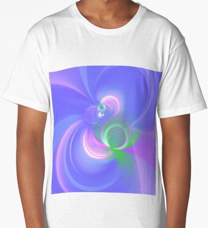 Abstract fractal colors Long T-Shirt
