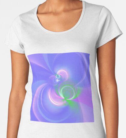 Abstract fractal colors Women's Premium T-Shirt