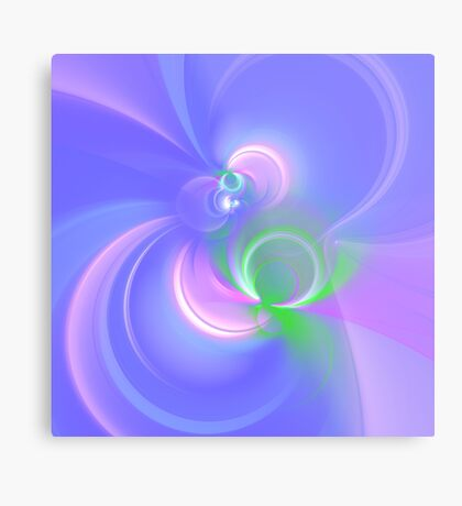 Abstract fractal colors Metal Print