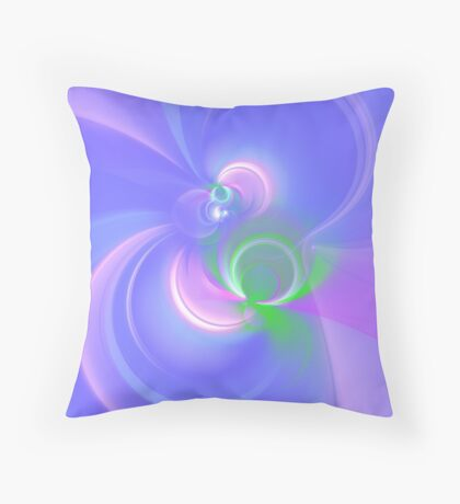 Abstract fractal colors Floor Pillow