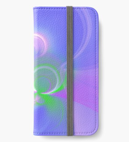 Abstract fractal colors iPhone Wallet
