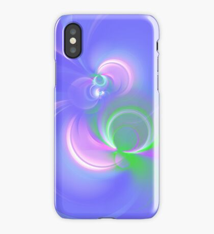 Abstract fractal colors iPhone Case