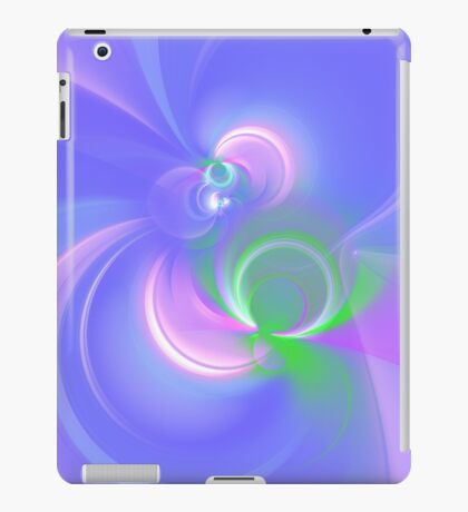 Abstract fractal colors iPad Case/Skin