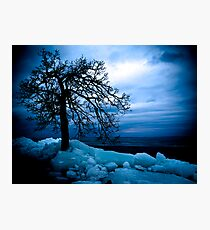 Retreating Ice Photographic Print