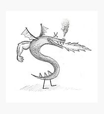 TROGDOR Photographic Print