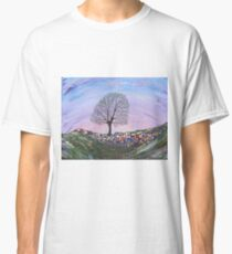 Sycamore Gap- Hadrians Wall Classic T-Shirt