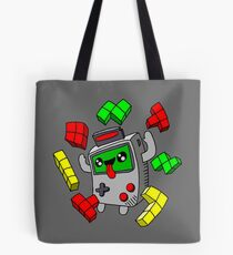 Tetris and Game Boy grey Tote Bag
