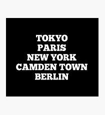 Camden Town, London Photographic Print