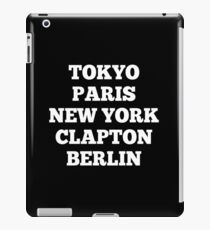 Clapton, London iPad Case/Skin