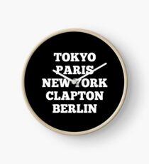 Clapton, London Clock