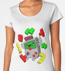 Tetris Game Boy retro game Women's Premium T-Shirt