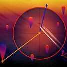 Your tears are air balloons of love by Vasile Stan