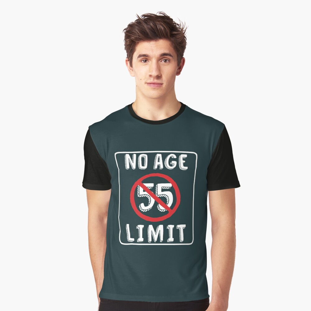No Age Limit 55th Birthday Gifts Funny B Day For 55 Year Old T