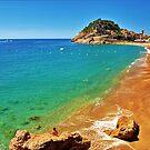 Tossa Beach - Tossa de Mar, Spain by NeilAlderney