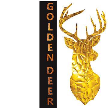 Golden Deer  by kartickdutta101