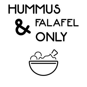 Falafel Hummus Only - Vegan Yoga Workout by RaveRebel