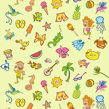 Cool summer pattern by Zoo-co