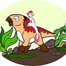 Little Dinosaurs - Melodi's Ride by Radiantglyph